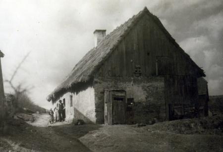 Hüthaus mit Strohdach