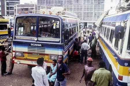 Busbahnhof in Dar es Salaam