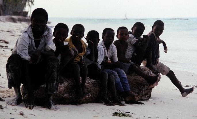 Die Kinder von Jambiani