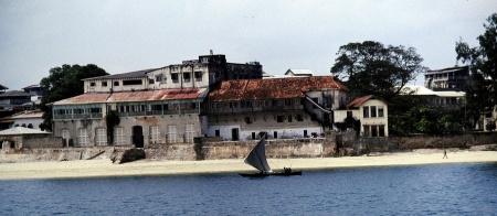 Hafeneinfahrt von Sansibar Town