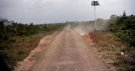 Fahrt über die Insel Sansibar