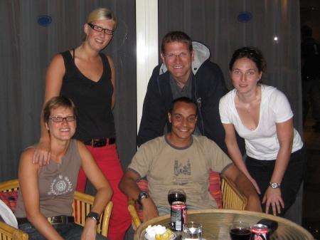 Martina, Ilona, Tom, Hany und Sonja