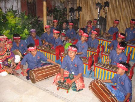 Balinesische Band